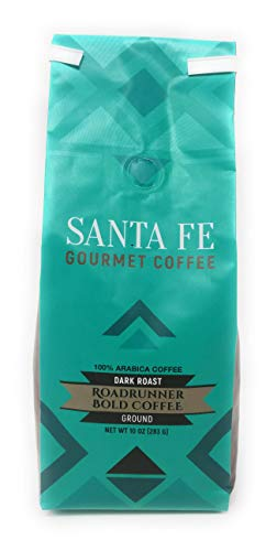 (Santa Fe Gourmet Road Runner Coffee Ground 12 oz bag)