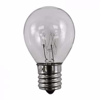 40 Watt High Intensity Lava Lamp Bulb 40w 120v S Type E17