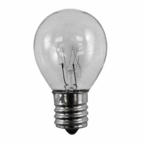 40 Watt High Intensity Lava Lamp Bulb 40w 120V S Type E17 Base S11, 40S11N