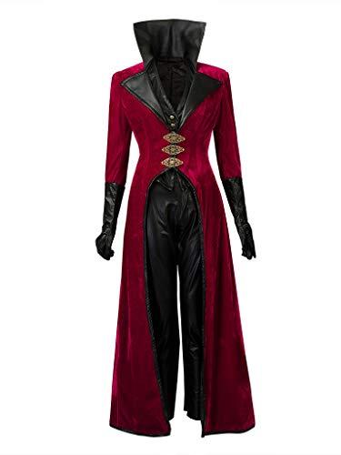 CosFantasy Regina Mills Cosplay Costume Red Suit mp003662 (Women XS) -