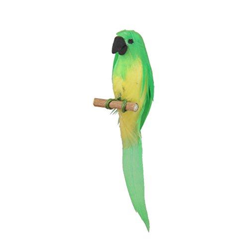 Perfk 1/12サイズ ドールハウス用 ミニチュア オウム  飾り 装飾  かわいい おもちゃ 素晴らしい 装飾 の商品画像