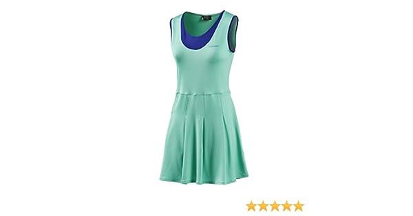 Head - Vestido pádel dual, talla s, color azul / verde: Amazon.es ...