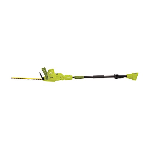 Sun Joe SJH904E Multi-Angle Telescoping Convertible Electric Pole Hedge Trimmer | 19-Inch 4.5 -Amp (Renewed)