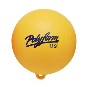 "Polyform 18314701 WS Series Water Ski Buoy - 8"" x 8.5"", Yellow"