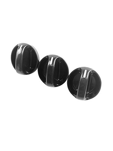 Beasteel 55905-0C010, 559050C010 Control Knob Heater A/C or Fan 3pcs Replacement Fits Toyota Tundra 2000, 2001, 2002, 2003, 2004, 2005, ()