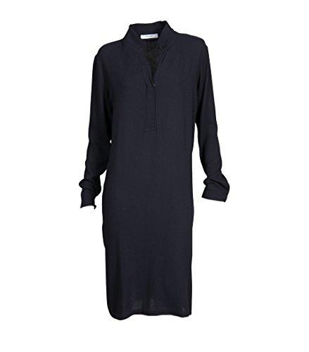 Kleid wolle blau