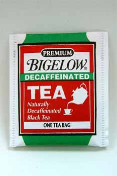 Bigelow Single Flavor Tea, Decaffeinated Black, 48 Bags/Box