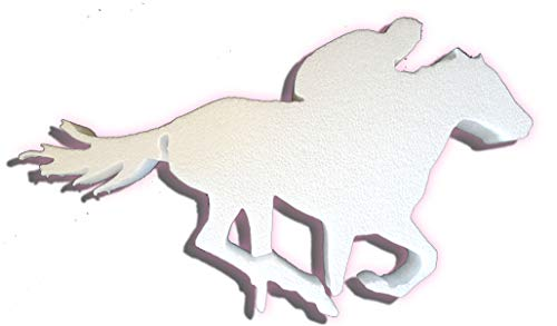 Styrofoam Sport Player Cut Outs (Racing Horse) ()