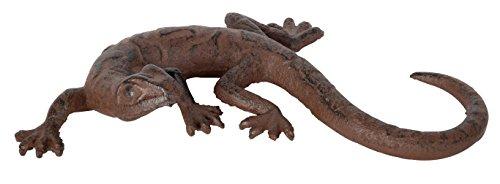 Esschert Design Lizard Wall Decoration, 7.137 by 4.017 by 1.209-Inch