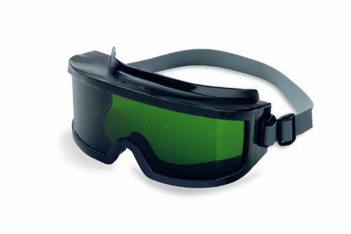 Uvex S347C Futura Safety Goggles, Clear Frame, Shade 3.0 Infra-Dura Uvextreme Anti-Fog Lens, Neoprene Headband
