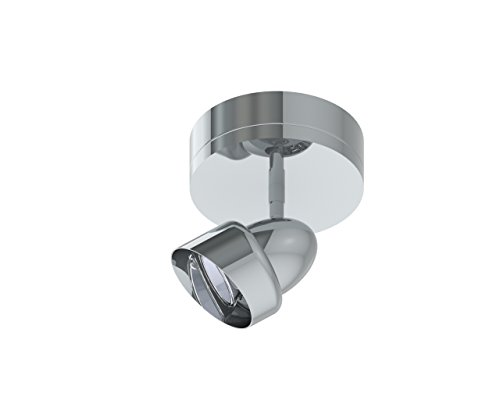 (Prima Lighting 963-00-1601S-PC Anur Track Head, Small, Polished Chrome)