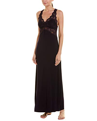 Bodice Lace Nightgown - Fleur't Womens Lace Bodice Nightgown, S/M