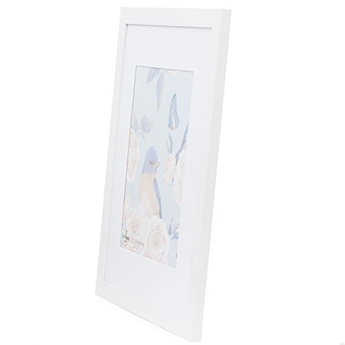 11x14 White Picture Frame - Matted for 8x10, Frames by EcoHome by Eco-home (Image #5)