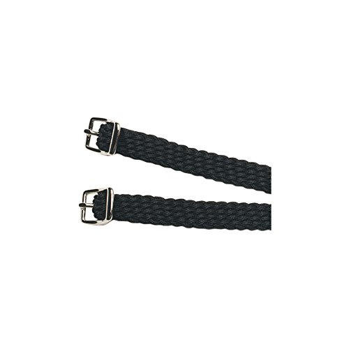 - Kincade Deluxe Pair of Straps for Spurs One Size Black