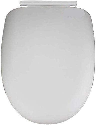 ZYL-YL クイックリリース肥厚の底部を有する便座互換性の便座はUはウルトラ耐性トイレのふた、ホワイト-41 * 34センチメートル形状マウント