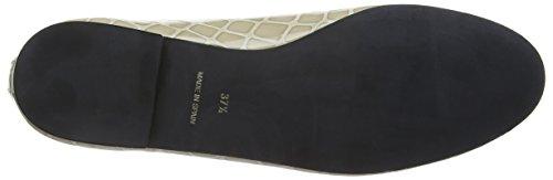 French Sole Henrietta Patent Croc - Bailarinas Mujer Beige - beige (topo)