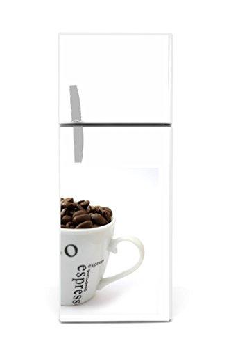 Réfrigérateur Autocollants Tasse à café 60x 90cm
