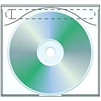 Tamper Resistant Adhesive CD | DVD Safety-sleeve - Pack of 100