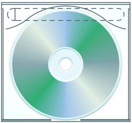 - Tamper Resistant Adhesive CD | DVD Safety-sleeve - Pack of 100