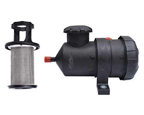 Machter Universal Fit Oil Catch Can & Filter for 4WD or 4X4 Turbo Diesel Engine Replace# ProVent 200 (Aca Oil)