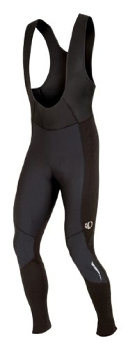 Pearl Izumi Men's Elite Therm Barrier Bib Tight, Black/ Black, X-Large by Pearl iZUMi