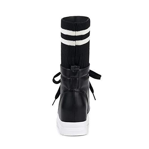 Femme Noir Compensées Sandales Abl11446 Balamasa qIZxtwFUU