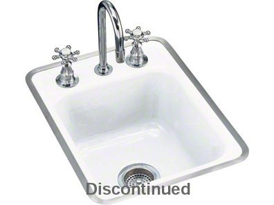 Kohler K5961M Tile-In/Metal Frame Kitchen Sink With Three-Hole - Metal Sink Kitchen Frame