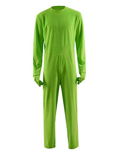 Children Kids 3D Grinch Jumpsuit Onesie Boys Green
