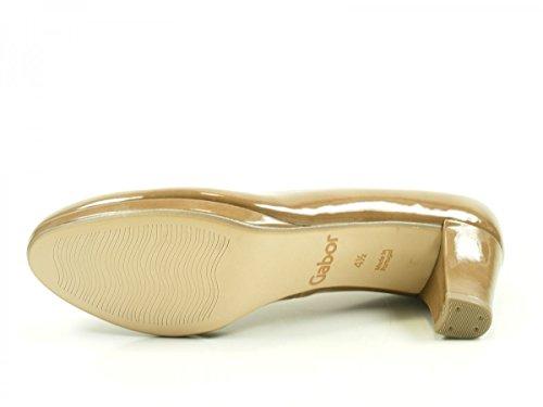 Gabor 71-260 Zapatos de tacón de material sintético mujer Beige
