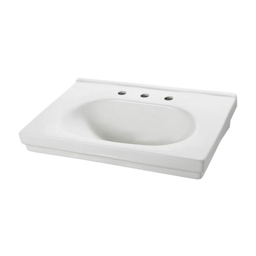 Structure Suite 20-5/80 in. Pedestal Sink Basin in White (F-1950-8W) by Foremost