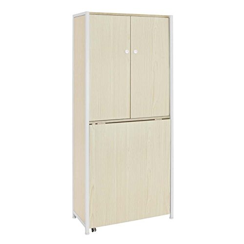 - Offex Sew Ready Craft White Birch Armoire