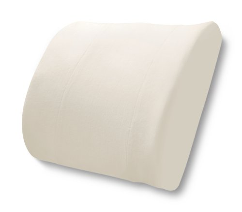 HoMedics OT-LUM Therapy Lumbar Cushion Support Pillow with Velour Cover