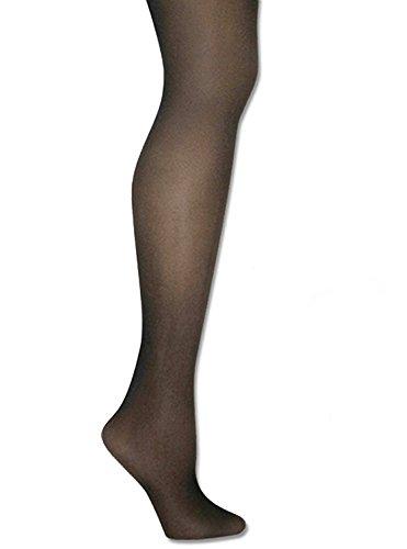 Donna Karan Hosiery Signature Ultra-Sheer Control Top Pantyhose, Plus Petite, Chocolate ()
