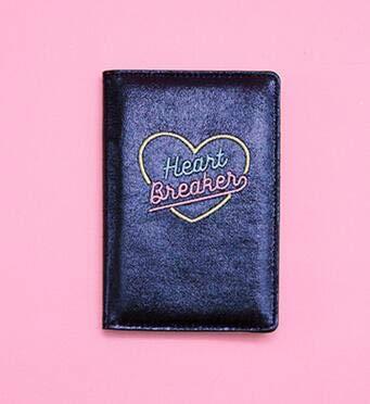 fa9b77edbb Amazon.com: Travel Laser Passport Covers Women Cute Cartoon Business ...