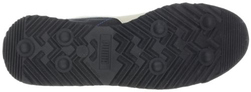 Puma Roma Slim Nylon Mode Sneaker Svart / Vit Svan / Snorkel Blå