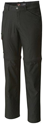 Mountain Hardwear Canyon Pro Convertible Pant 32 Inseam - Men's Stealth Grey 34 (Mountain Pant Canyon Hardwear)