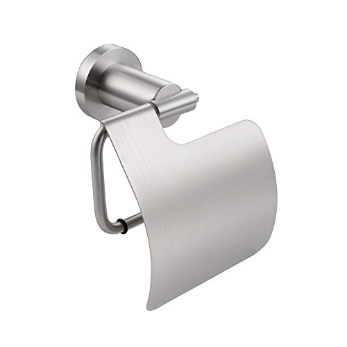 KES SUS304 Stainless Steel Toilet Paper Holder Wall Mount, Brushed Finish, A2370-2