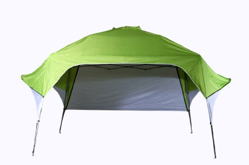 Fastset 8×8 Pop up Instant Wing Canopy Shelter with Adjustable Rear Wall – Covering 80 Sqf, Outdoor Stuffs