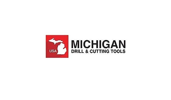 Michigan Drill Series 565 11//32 HSS Hand Reamers Right Hand Cut Spiral Flute