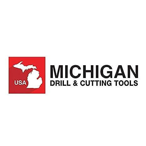 57//64 HSS Hand Reamers Spiral Flute Michigan Drill Series 565 Right Hand Cut