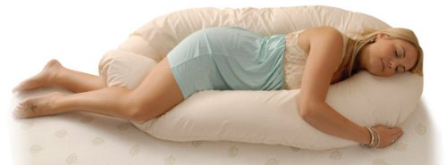CosyDreams Exclusive U-Shape Body Pillow with FREE White Pillowcover