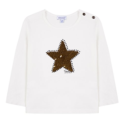 Girl 11 Ecru Absorba Baby Camiseta 8xYZTZ