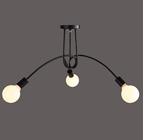 CWJ Luces Modernas y Sencillas: candelabros de Estilo Europeo Luces de Techo en la Sala de Estar Personalidad Simplemente el...
