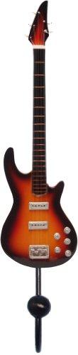 Songbird Essentials Orange & Black 5-String Bass Guitar Single Wallhook by Songbird Essentials