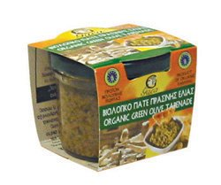 ORGANIC GREEN OLIVE TAPENADE 100% NATURAL GREEK PRODUCT (Green Olive Tapenade)