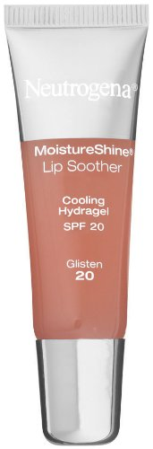 Neutrogena Spf 20 Moisturizer (Neutrogena MoistureShine Lip Soother, SPF 20, Glisten 20, 0.35 Ounce)