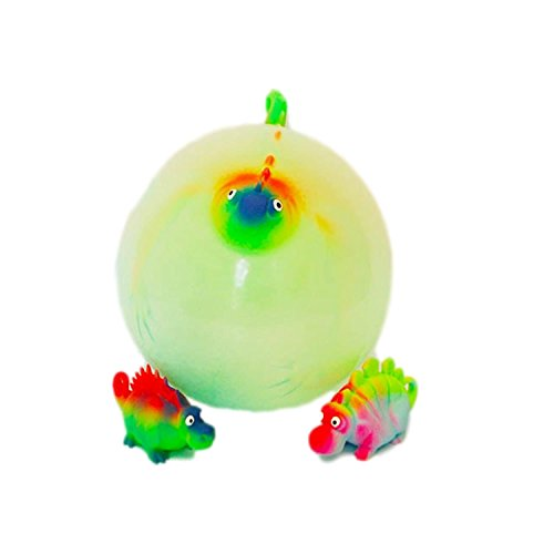 TEDCO Dinosaur Balloon Ball - Super Stretchy Balloon that becomes a Ball! (Inflates up to 10 inches) ()