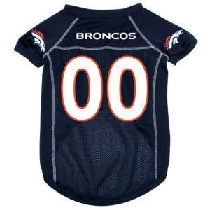 HUNTER Denver Broncos NFL - Camiseta de fútbol para Mascota (Malla de 4 a 10