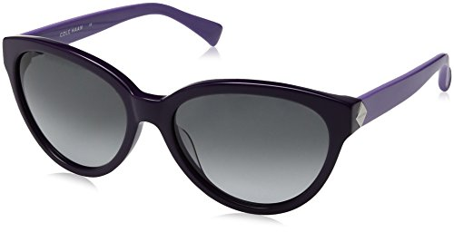 Cole Haan Women's Ch7002s Cateye Sunglasses, Purple, 58 - Cole Haan Sunglasses