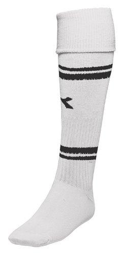 Diadora Trevisoサッカーソックス B00D1663YMホワイト/ブラック Large